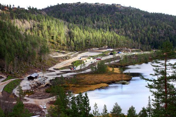 Bortelid-Camping-Beliggenhet-langs-Murtetjønn